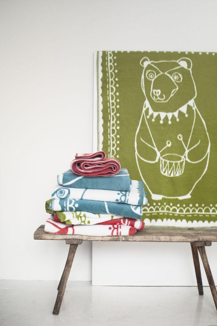 Circus bear  3 colors