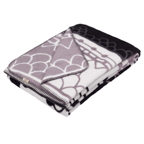 black and white design Landscape blanket / bed throw for a style-lover