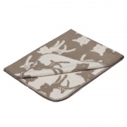 super soft cotton baby blanket with sweet but modern bambi design
