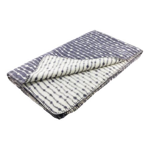soft cotton throw blanket dark grey minimalist graphical Scandinavian design