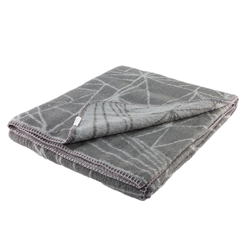 frozen grey / dark grey super soft brushed cotton bllanket for a modern home
