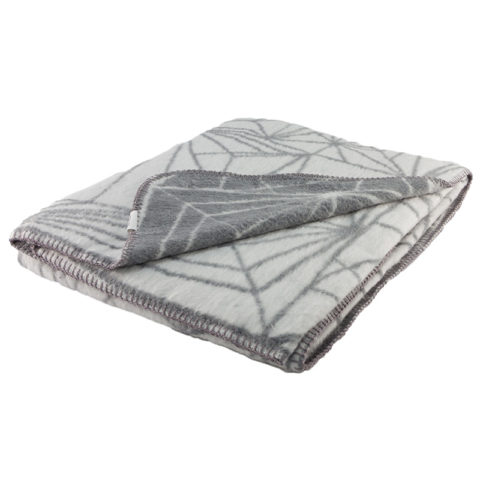 Frozen graphical pattern for mordern home super soft brushed cotton grey and light grey