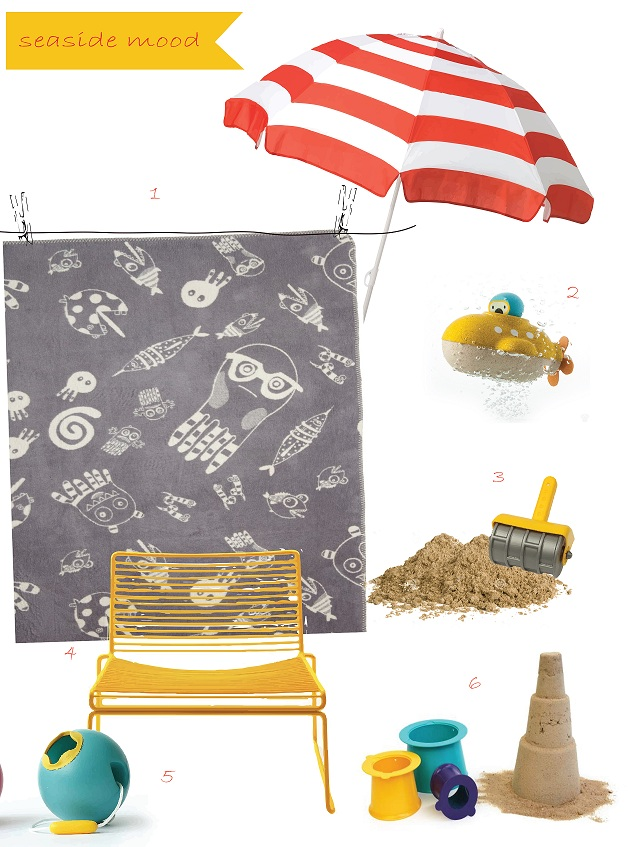 Inspiration what to pack for the day on the beach