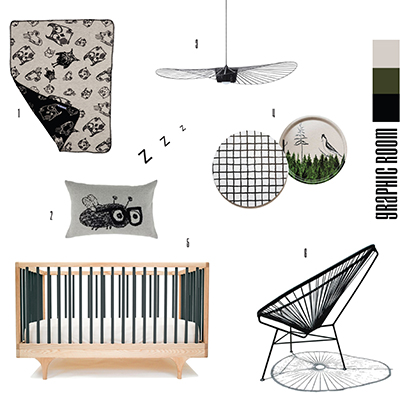 Monochrome Nursery Decor Made Easy Scandinavian Style