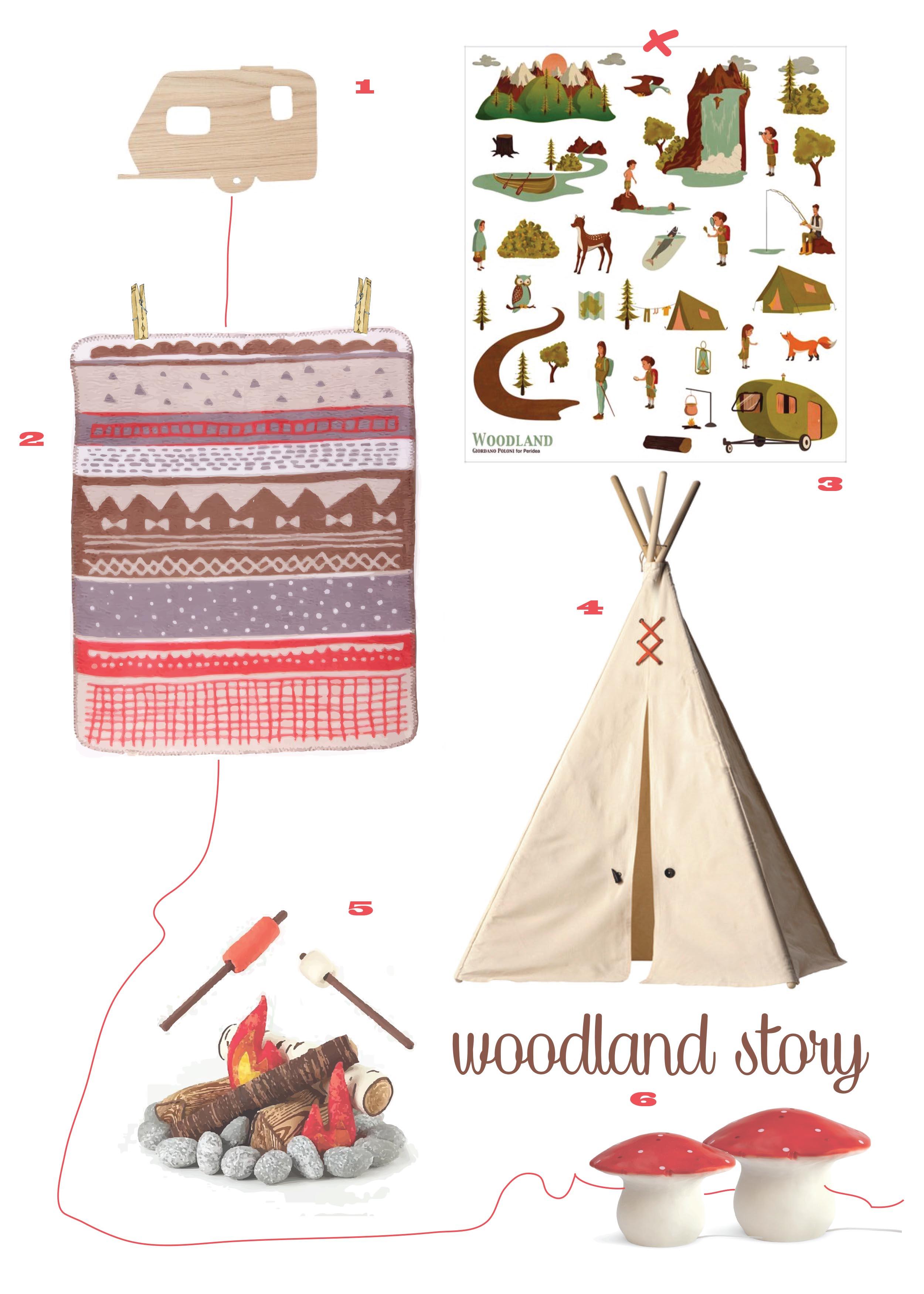 woodland story