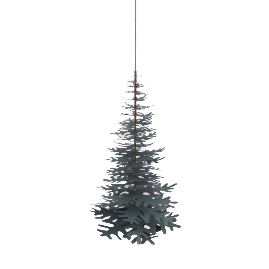 Nordic Fir Tree 3D Kit – Forest Green Large
