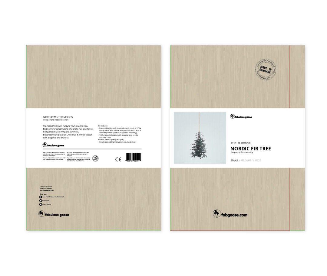 Nordic Fir Tree 3D kit