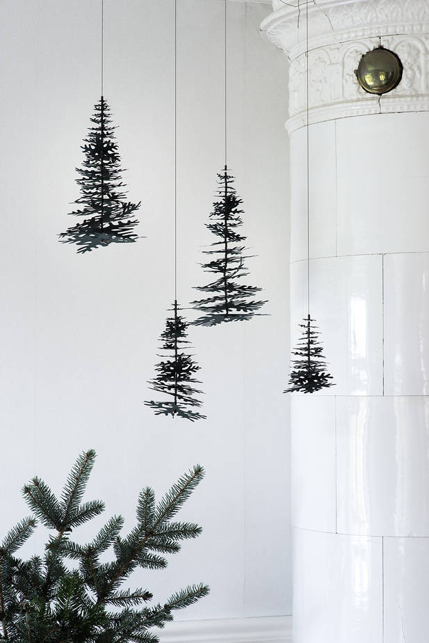 Nordic Fir Tree 3d Kit Forest Green Large Fabulous