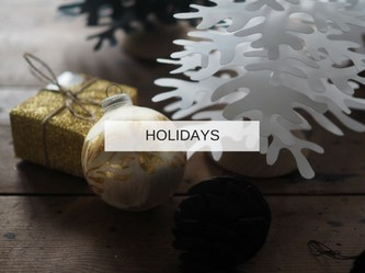 HOLIDAYS frontpage