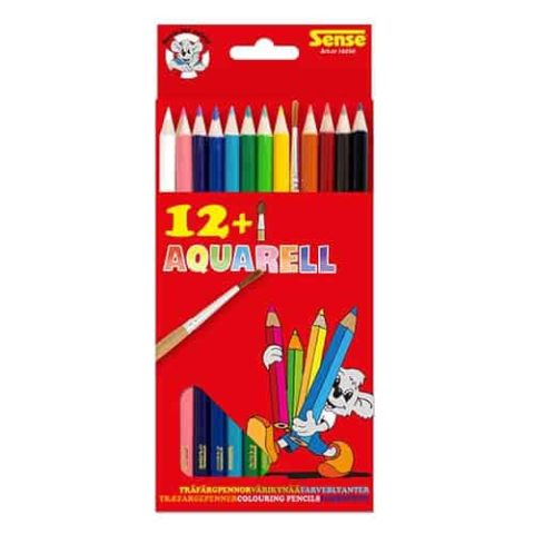 aquarelle color pens with a pencil set