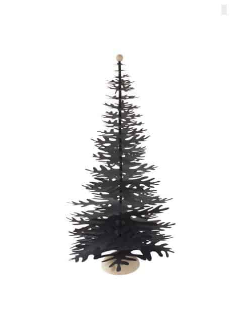 black big size paper decoration Christmas tree