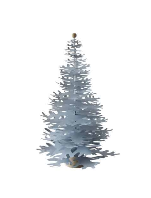 blue big decoration paper tree