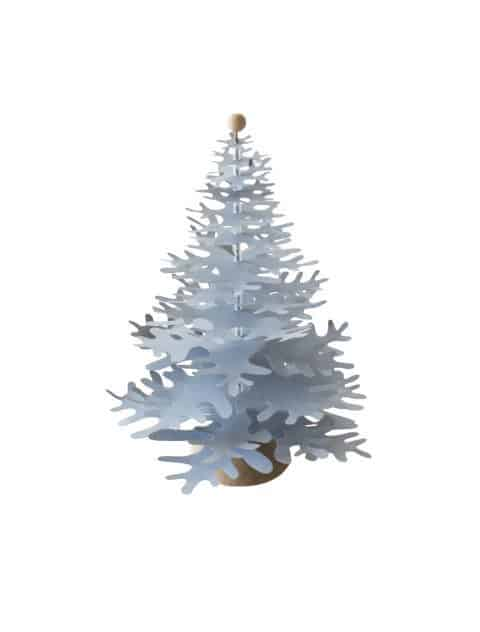 blue Christmas tree paper decoration
