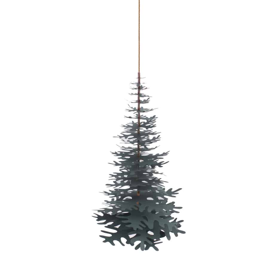 Simple, Scandinavian stile paper ornament - hanging Christmas tree. Comes in different sizes and colors