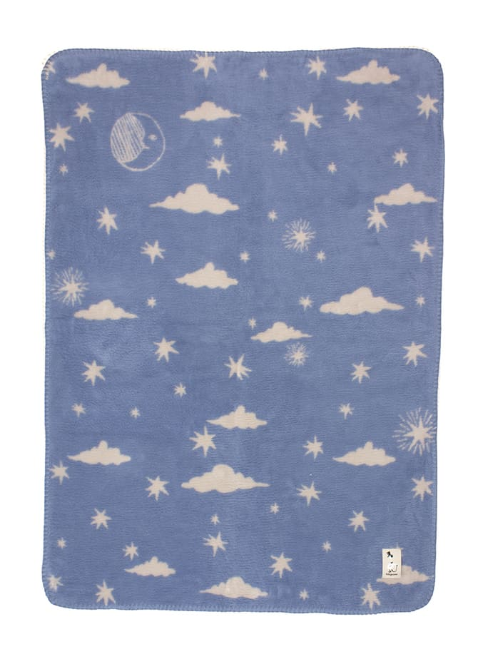 cuddle time unisex baby blanket with stars