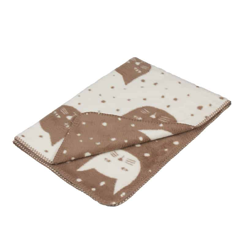 perfect unisex baby blanket in soft organic cotton.