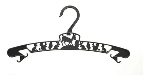 kid's hanger black