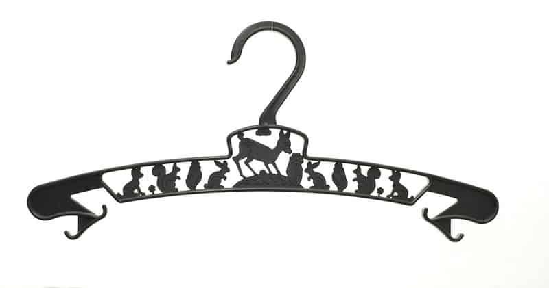 kid's hanger black