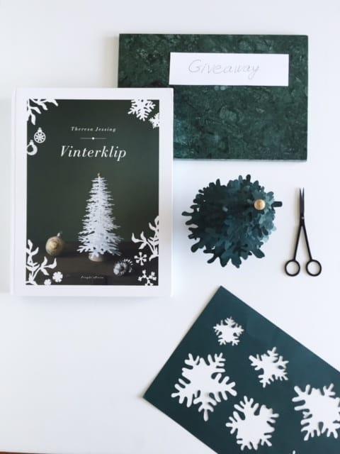 Giveaway - win Vinterklip book and DIY kit paper tree