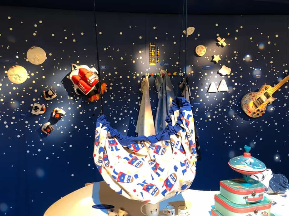 Lost in Space trend zone at Pitti Bimbo inspiration for spca theme