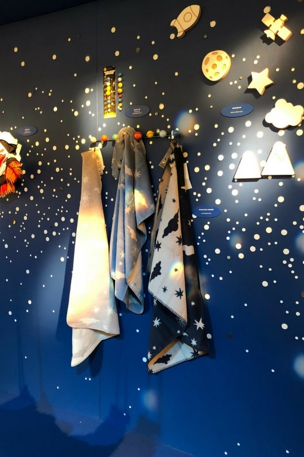 Sapce theme for kids interior - Lost in Space trend zone at Pitti Bimbo