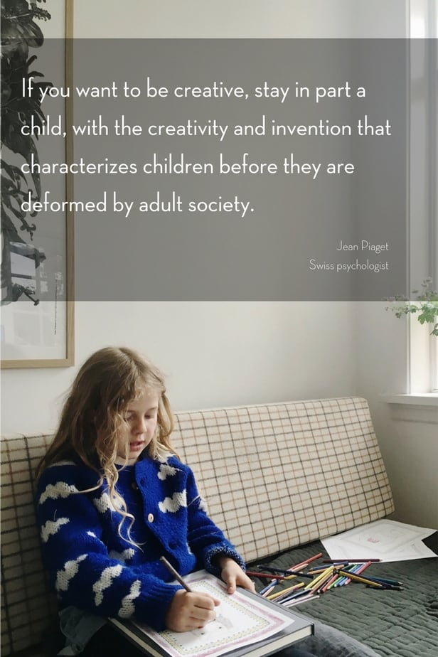 Fostering your child's creativity is so important