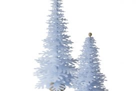 Scandinavian style Christmas decorations paper ornaments