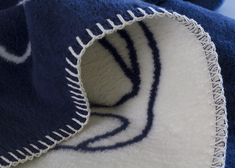 Bl 229 Hval Blue Whale Designer Blanket For Baby And Toddler