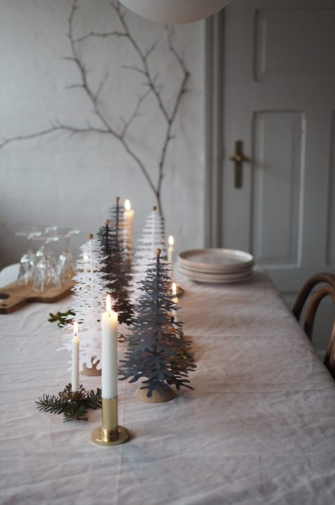 A perfect centerpiece for your Christmas table